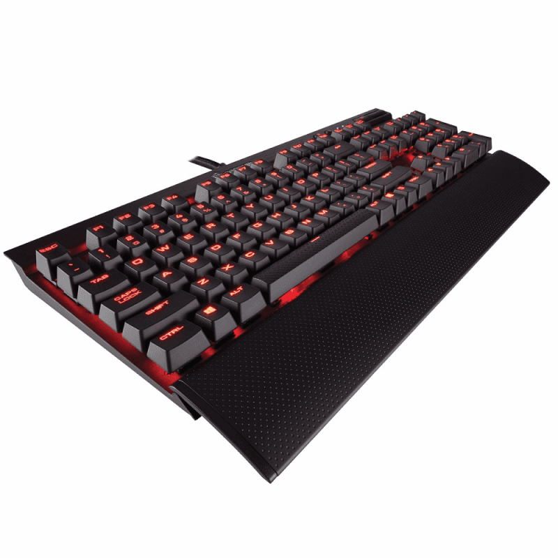 Клавиатура Corsair K70 LUX Cherry MX Red Black USB - фото 5