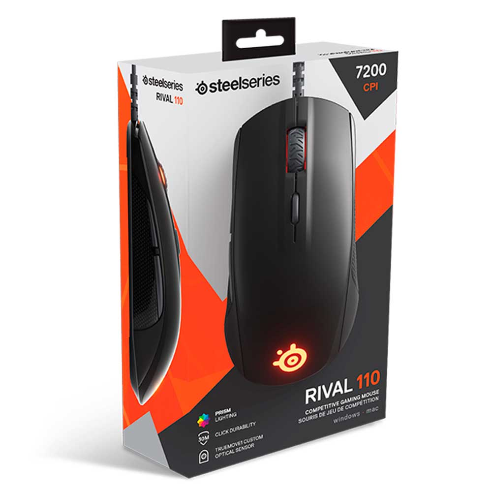 Мышь SteelSeries Rival 110 Black - фото 5