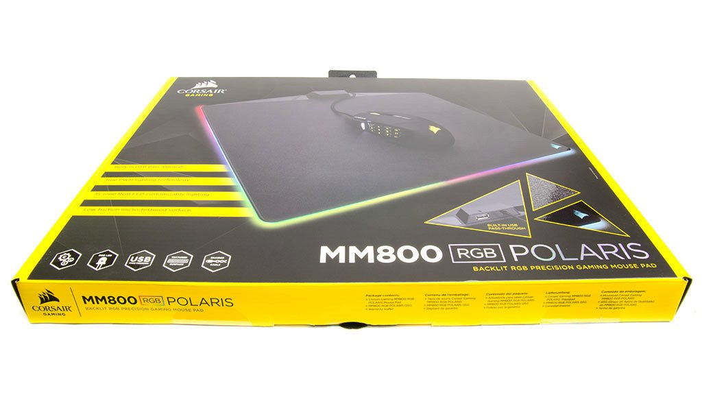 Упаковка и комплектация Corsair MM800 RGB POLARIS
