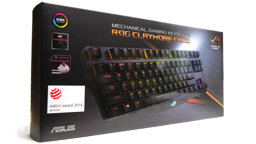 Упаковка и комплектация ASUS ROG Claymore Core