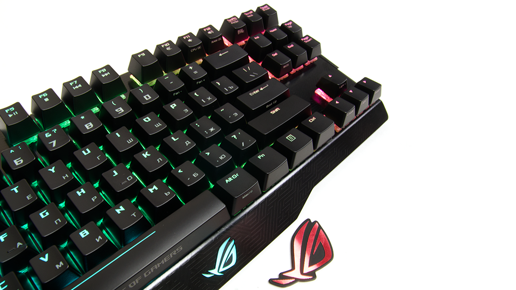 Эксплуатация ASUS ROG Claymore Core