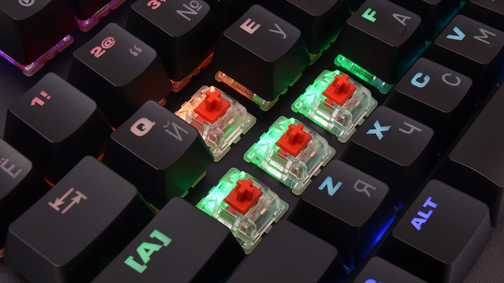 Подсветка Mad Catz S.T.R.I.K.E. 4 Cherry MX Red