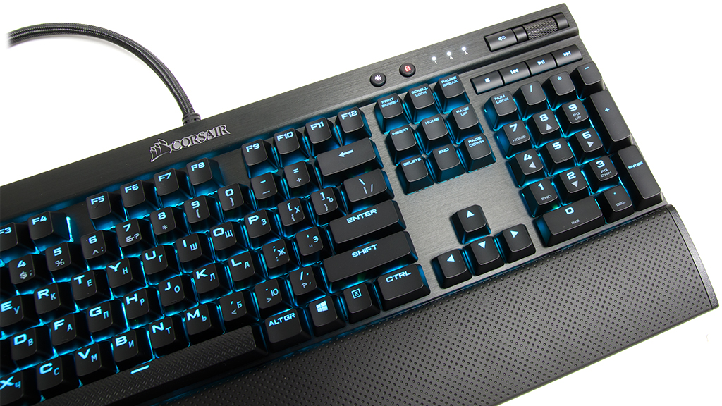 Опыт эксплуатации Corsair K70 LUX RGB Cherry MX Silent