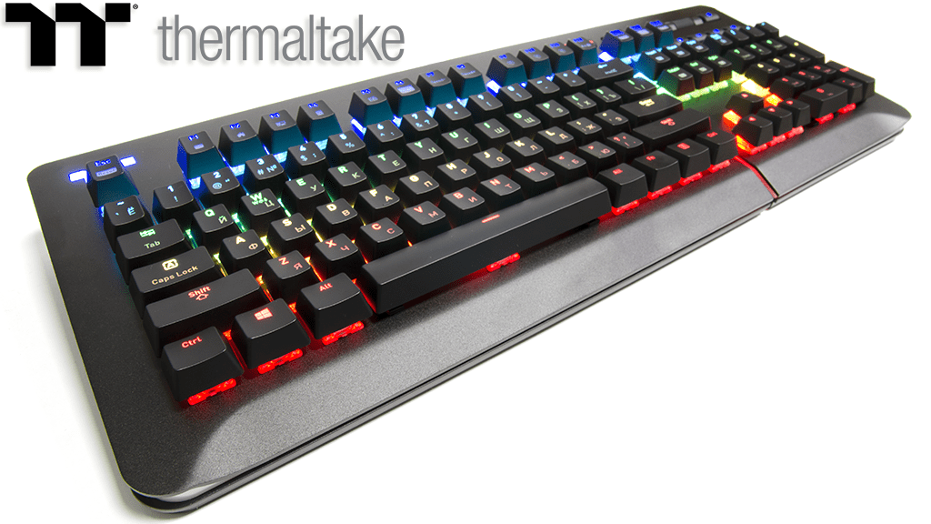 Обзор Thermaltake Level 20 RGB Cherry MX Speed