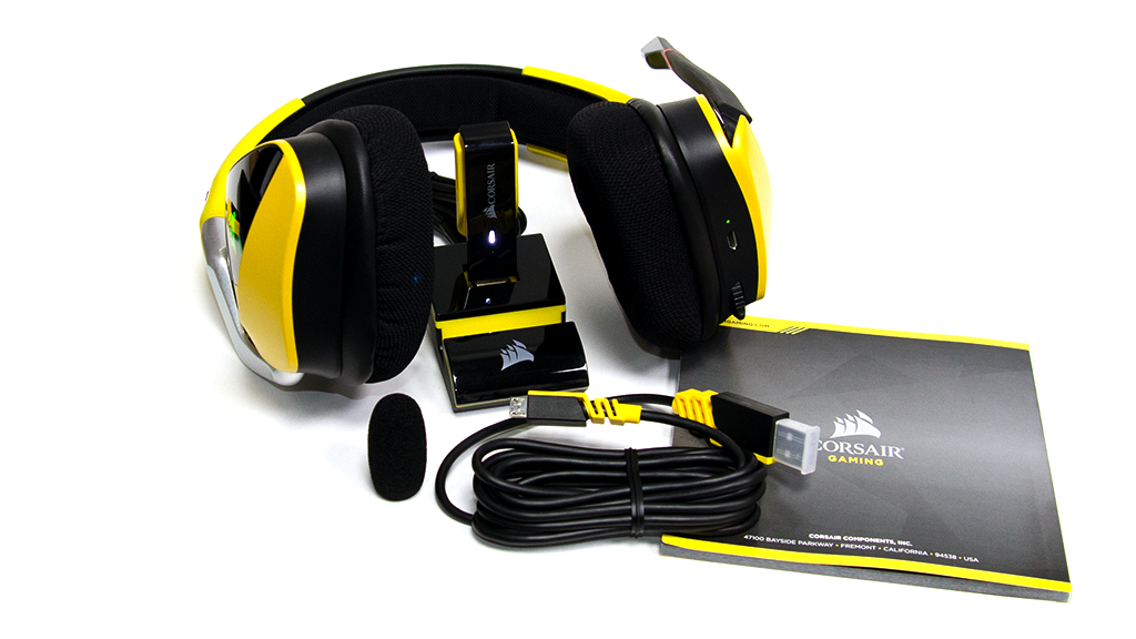 Комплектация Corsair Void PRO Dolby 7.1 Wireless SE