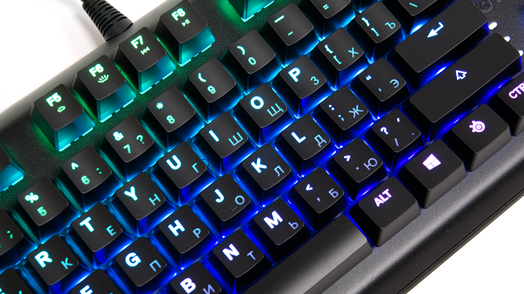Материалы SteelSeries Apex M750 TKL