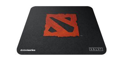 SteelSeries QcK Mini DotA 2 Edition возьми с собой свою DotA