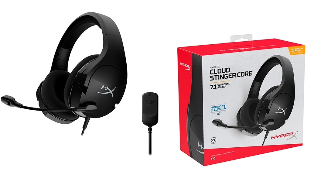 Преимущества HyperX Cloud Stinger Core, Cloud Stinger Core +7.1 и Cloud Stinger Core Wireless +7.1