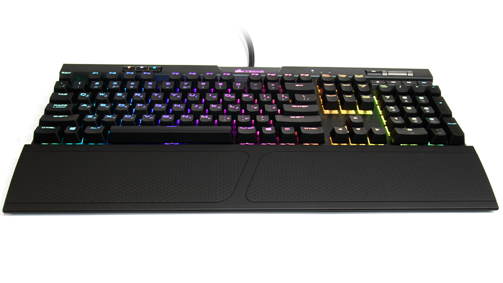 Выводы из обзора Corsair K70 RGB MK.2 Cherry MX Blue