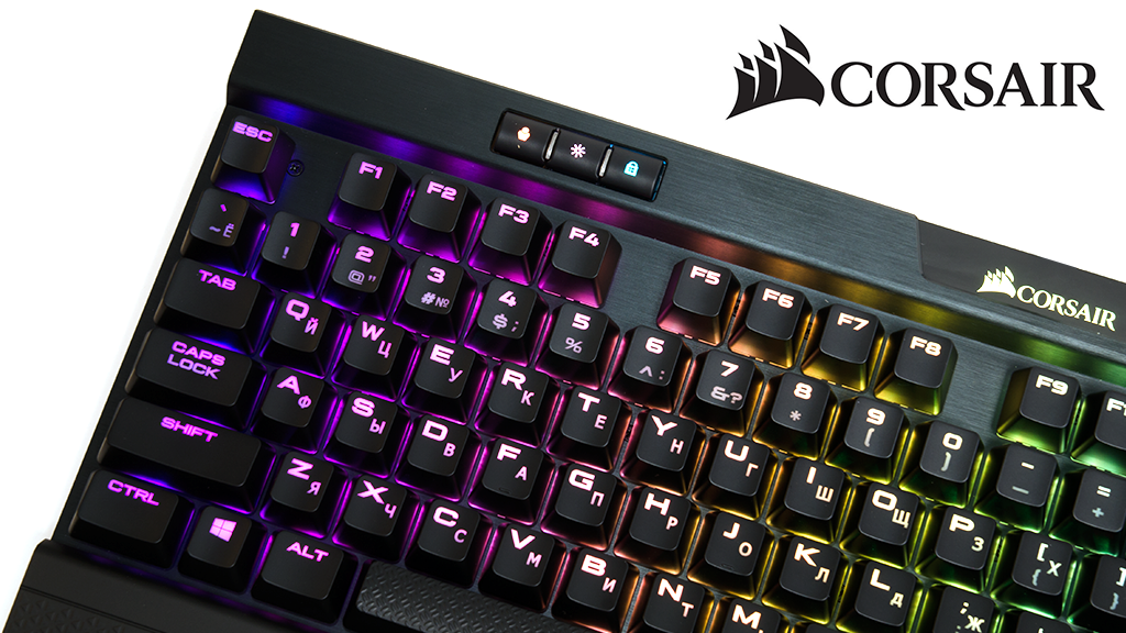 Обзор Corsair K70 RGB MK.2 Cherry MX Blue