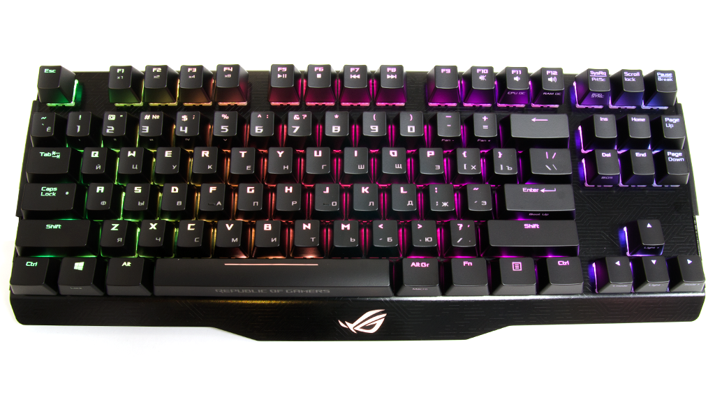 Подсветка ASUS ROG Claymore Core