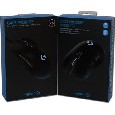 Обзор Logitech G403 Prodigy Wireless