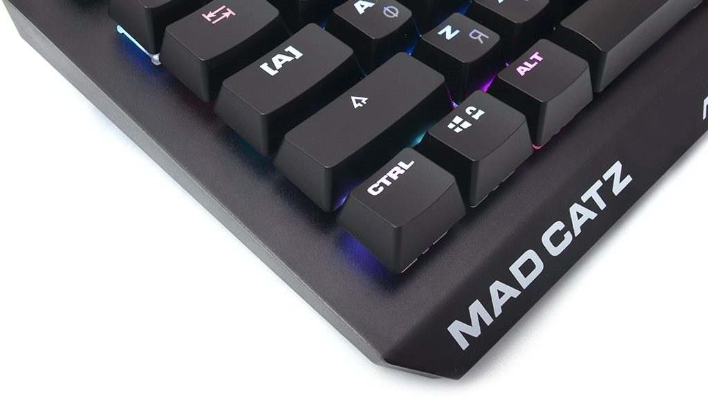 Дизайн Mad Catz S.T.R.I.K.E. 4 Cherry MX Red