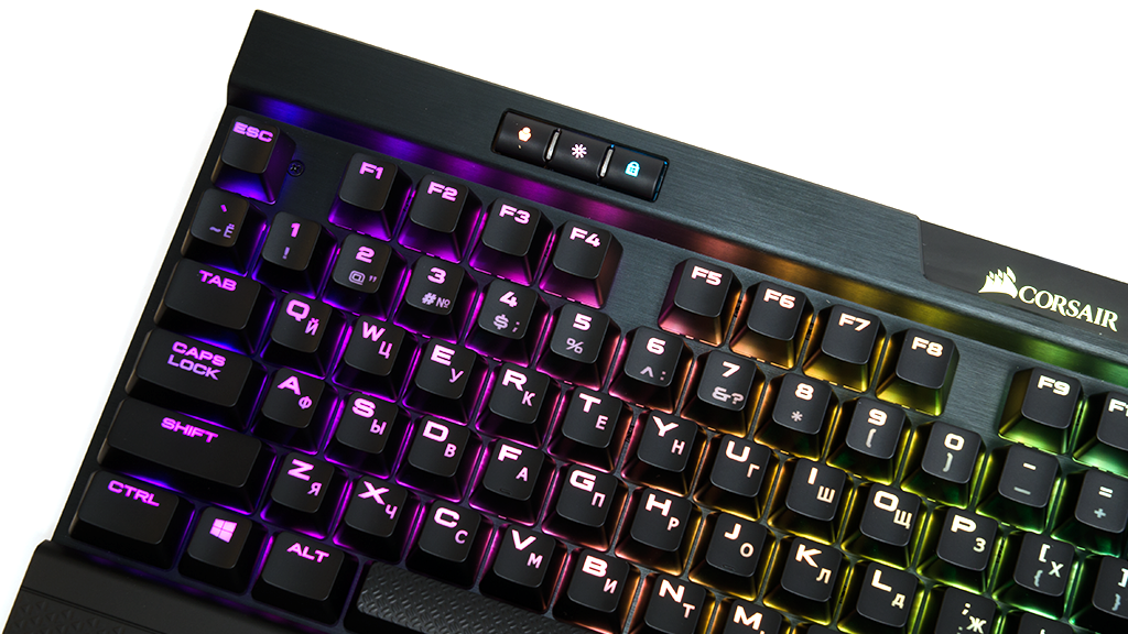 RGB Подсветка Corsair K70 RGB MK.2 Cherry MX Blue
