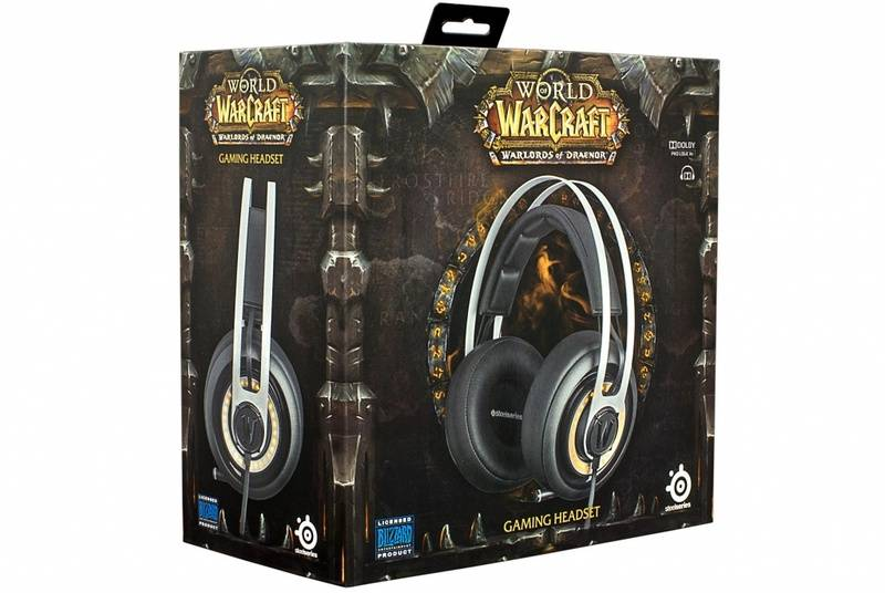 Скоро в продаже SteelSeries Siberia Elite World Of Warcraft Edition