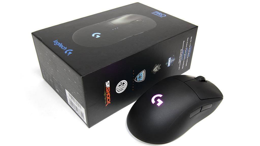 Материал Logitech G Pro Wireless