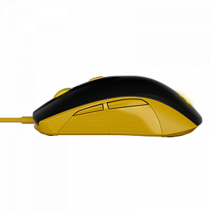 Мышь SteelSeries Rival 100 Proton Yellow - фото 4