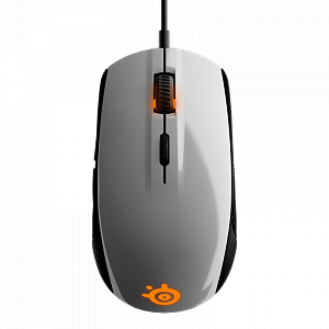 Мышь SteelSeries Rival 100 White - фото 3