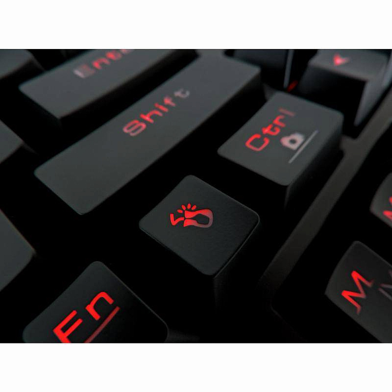 Клавиатура Gamdias Hermes Essential Cherry MX Black - фото 4