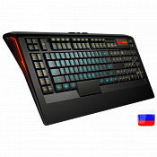 Клавиатура SteelSeries Apex Gaming Keyboard Black USB - фото 1