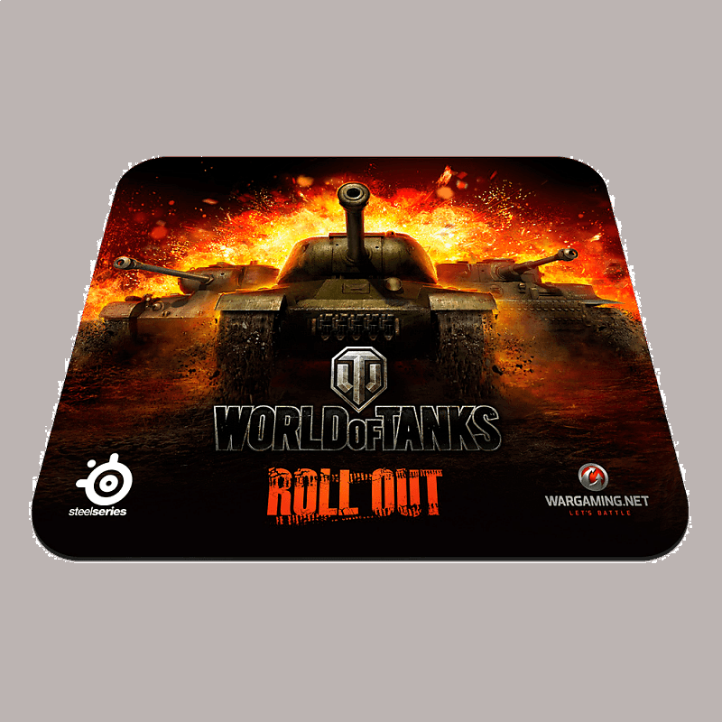 Коврик для мыши SteelSeries QcK World of Tanks Edition - фото 1