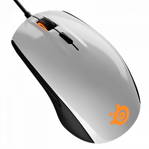 Мышь SteelSeries Rival 100 White - фото 2