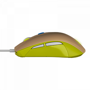 Мышь SteelSeries Rival 100 Gaia Green - фото 4