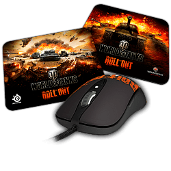 SteelSeries Sensei RAW World of Tanks Bundle