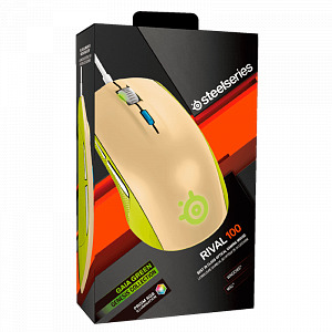 Мышь SteelSeries Rival 100 Gaia Green - фото 5
