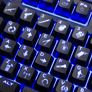 Counter Strike Global Offensive Keycap Set - фото 4