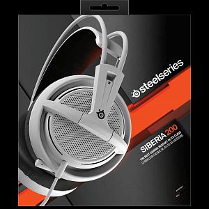 Steelseries Siberia 200 White с микрофоном купить наушники по