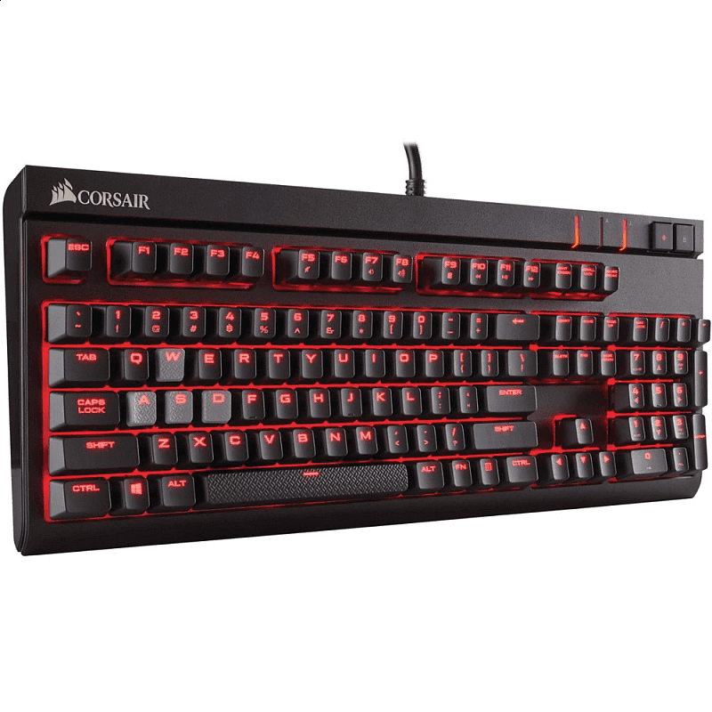 Клавиатура Corsair STRAFE Cherry MX Red - фото 2