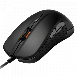 Мышь SteelSeries Rival 300 Black - фото 2