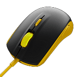 Мышь SteelSeries Rival 100 Proton Yellow